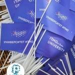 Флажки на палочке для университета ИТМО